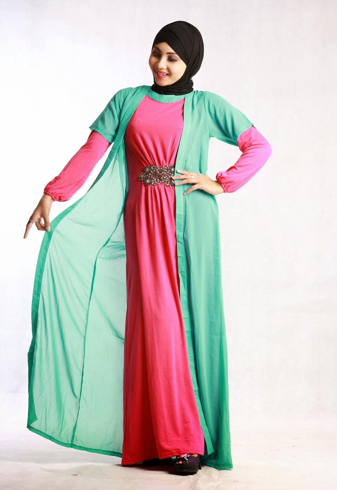 10 Model Baju Muslim untuk Orang Gemuk yang Pas