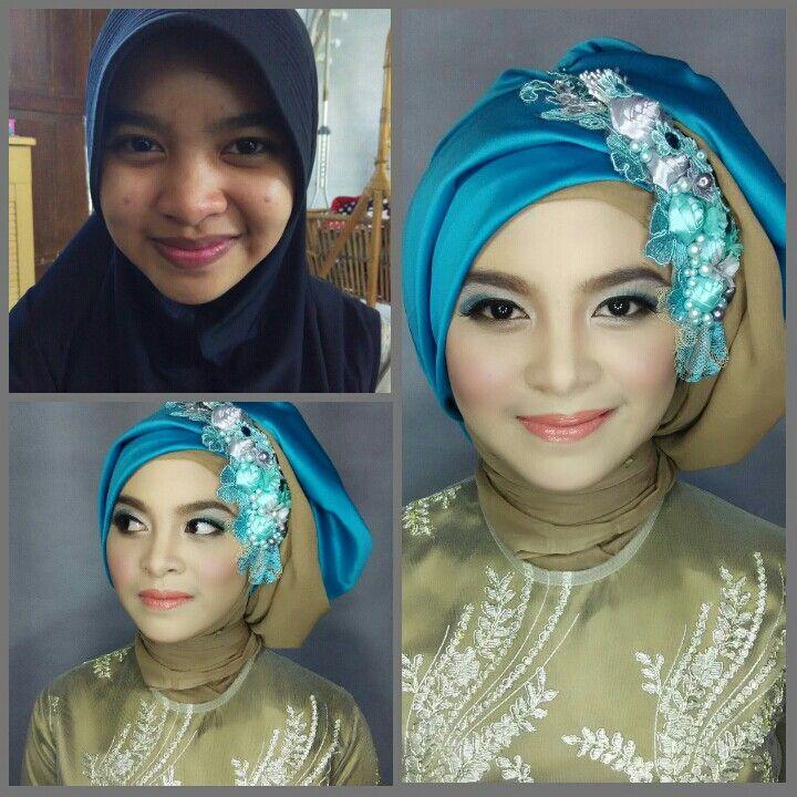 Tutorial Hijab Pesta Simple Segi Empat Tapi Elegan Tampil Cantik