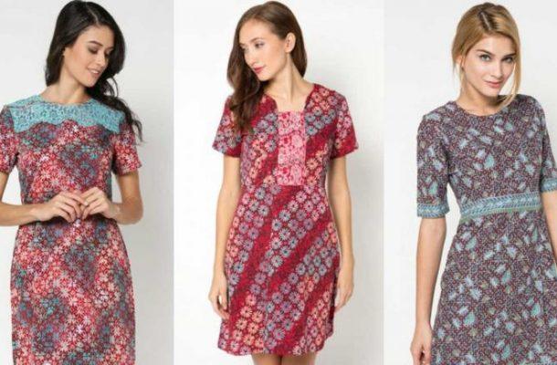 model baju long dress batik