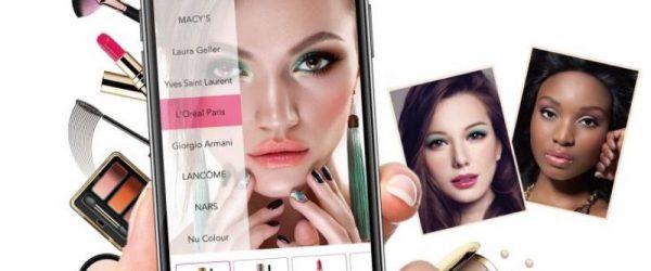 7. Aplikasi Makeup Wajah di Komputer